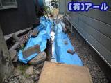札幌市西区のお客様宅での排水管補修工事