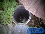 札幌市南区での屋外排水管のつまり修理