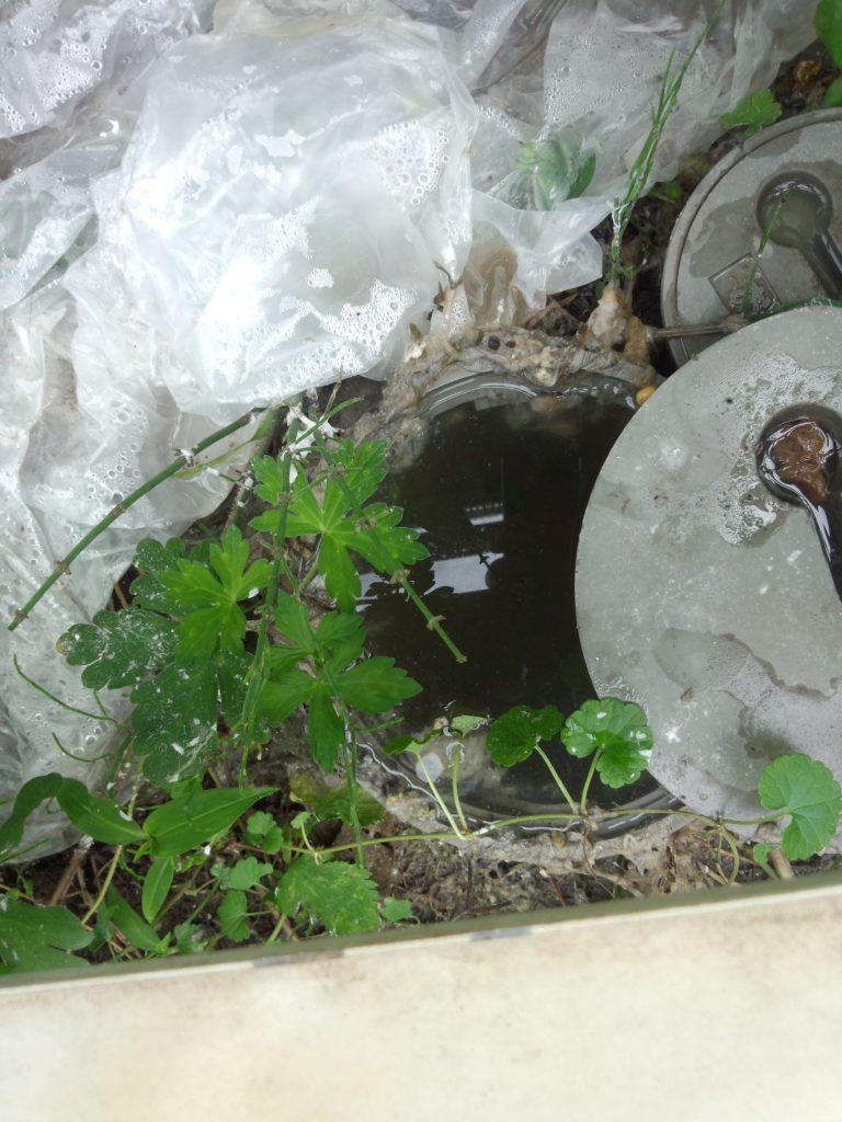 札幌市東区 排水管つまり除去高圧洗浄 排水水つまり