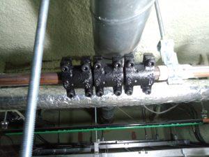 銅管修理圧着ソケット