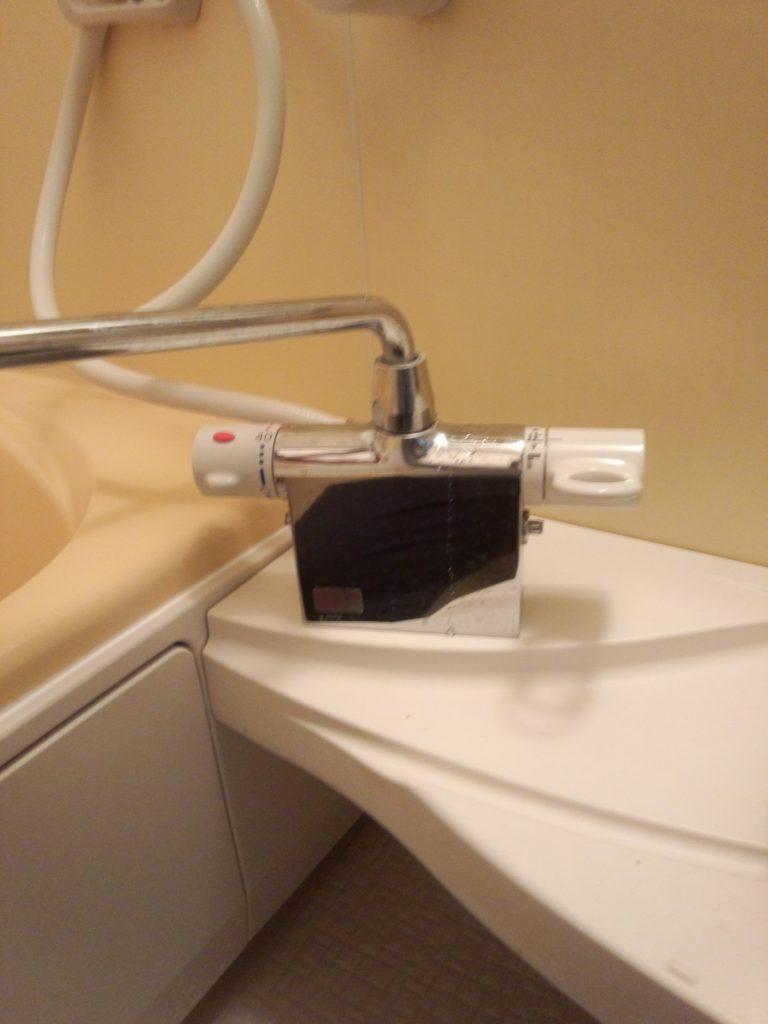札幌市手稲区 シャワー混合栓水漏れ修理 浴室シャワー水漏れ修理