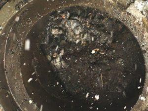 札幌市手稲区排水管つまり除去,排水管高圧洗浄
