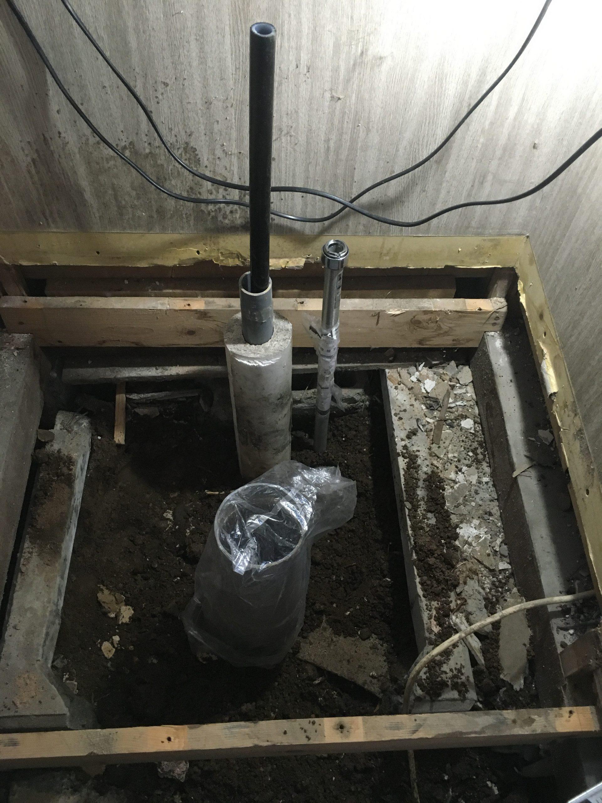札幌市西区でのトイレ水抜き栓交換工事 トイレ水抜き栓水漏れ修理