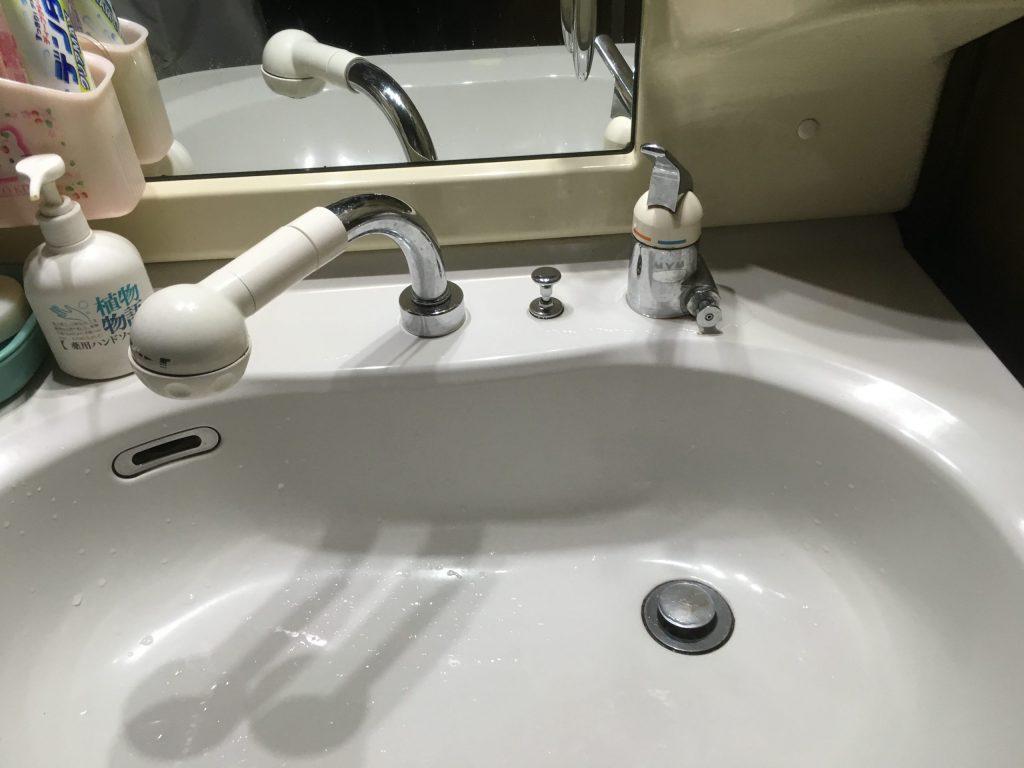 札幌市西区MYM水栓水漏れ修理 MYMシャワー混合栓水漏れ工事