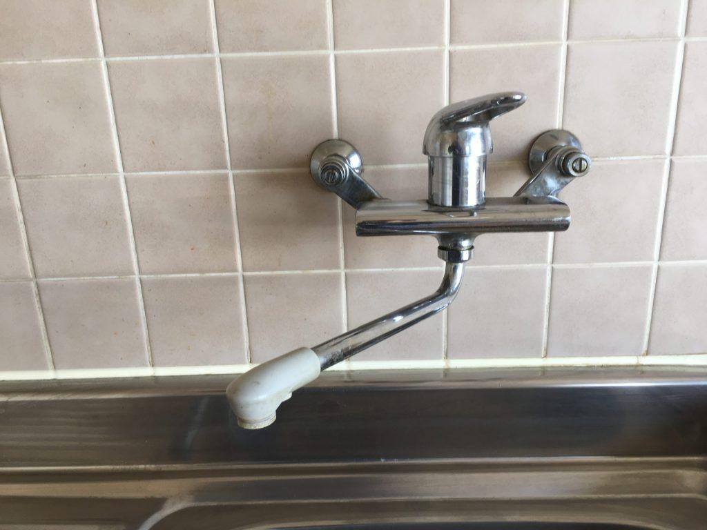 札幌市東区MYM混合栓水漏れ修理 MYMレバー水栓水漏れ修理