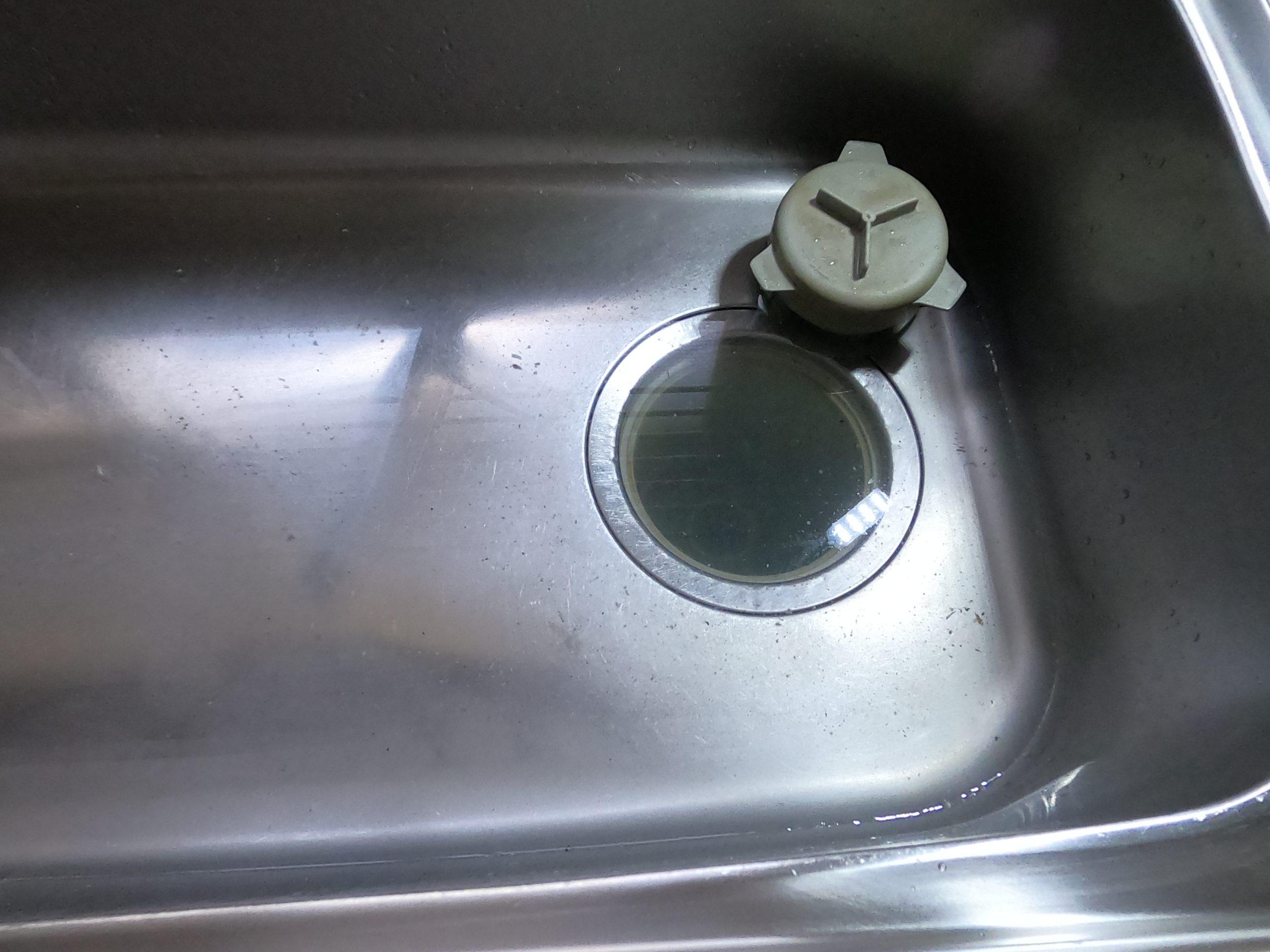 台所の水が流れない