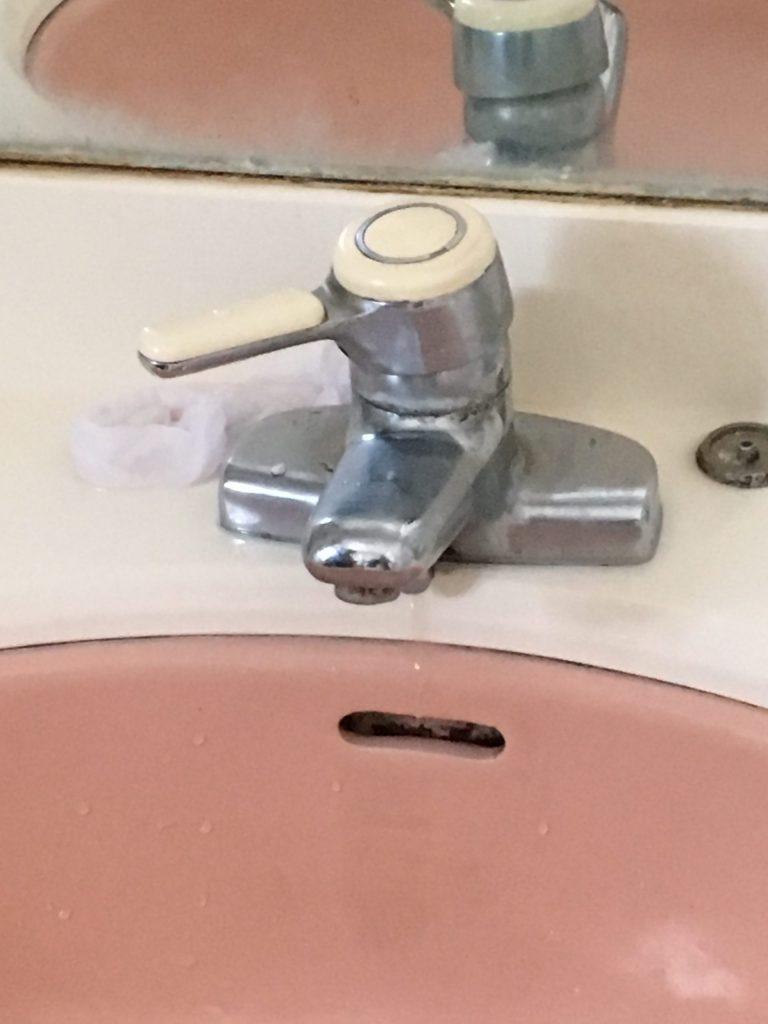 札幌市西区イナックス蛇口修理 INAXレバー水栓水漏れ修理
