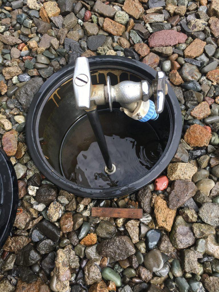 札幌市東区散水栓水漏れ修理,散水栓からの水漏れ,外の水道の水漏れ修理
