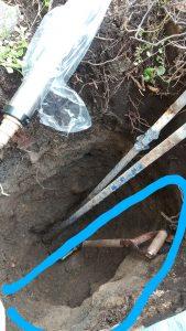 札幌市西区福井散水栓交換