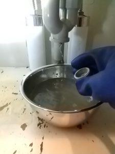 洗面排水掃除口