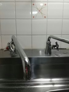 台所単水栓水漏れ