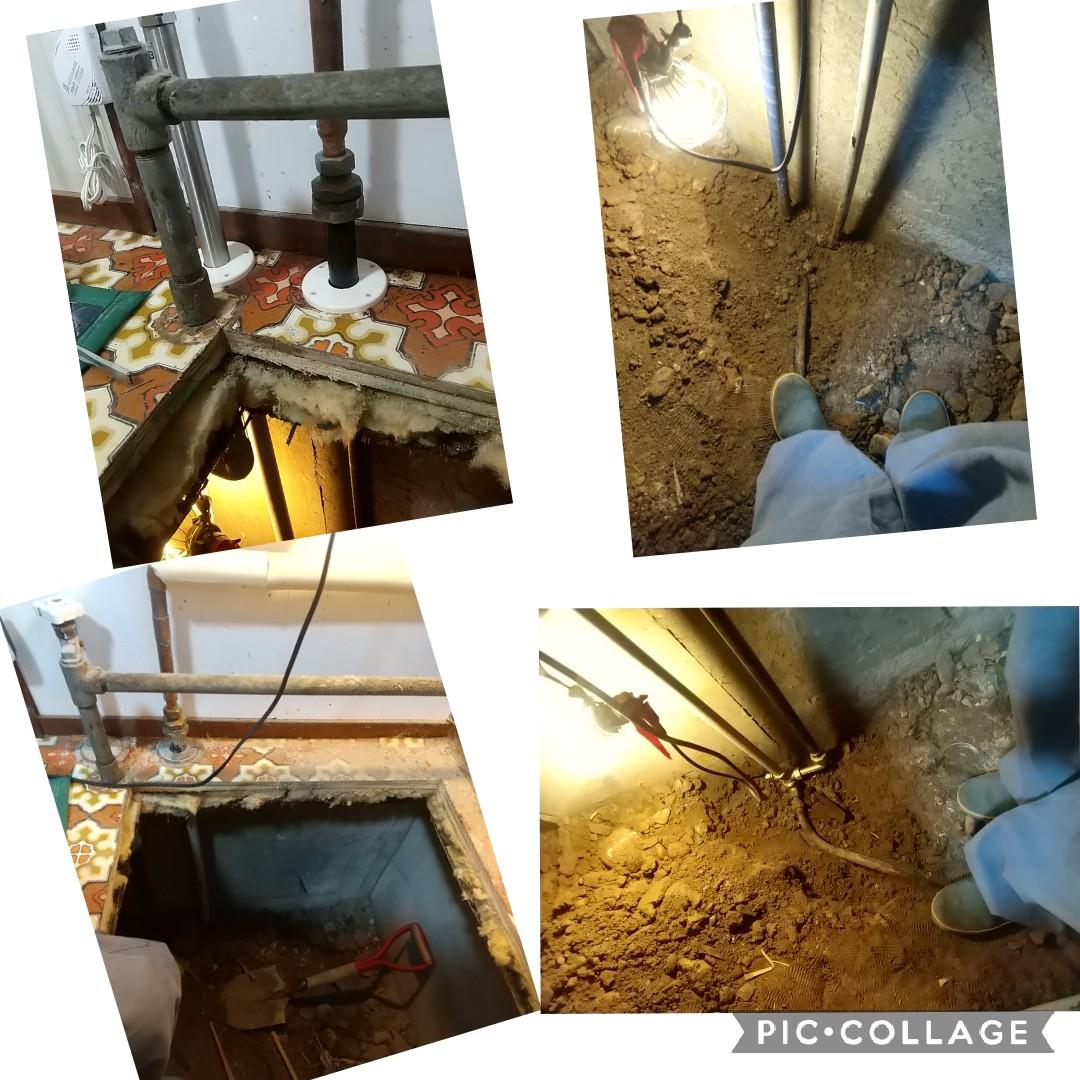 札幌市水抜き栓交換工事
