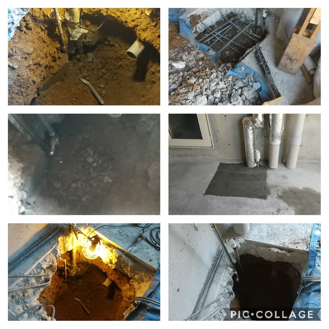 水抜き栓からの水漏れ!屋内水抜き栓交換工事