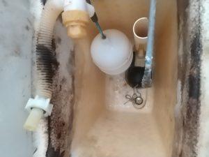 TOTOトイレタンク水漏れ修理