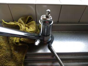 kvkワンホール混合栓 共回り防止工具