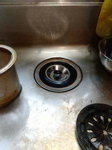 台所排水水漏れ箇所 修理後
