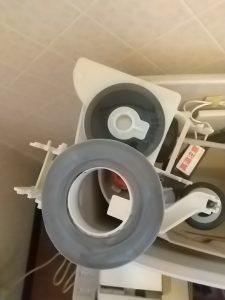 ピュアレストQR 排水弁パッキンの劣化
